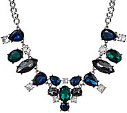 Susan Graver Multi-Color Statement Necklace - J324332