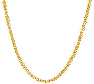 As Is Veronese 18K Clad 16 Woven Byzantine Necklace - J327032