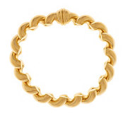 As Is Veronese 18K Clad 8 San Marco Bracelet w/MagneticClasp - J327432