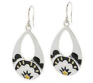 As Is Vera Bradley Teardrop Dangle Earrings - J327832