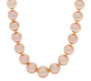 Honora 14K Gold 12.0mm - 15.0mm Ming Cultured Pearl 24 Necklace - J328432