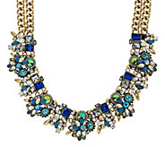 As Is Joan Rivers Crystal Collage Statement Necklace - J329832