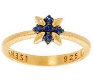 Genesi 18K Clad Sapphire Star Stack Ring - J330232