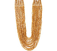 Joan Rivers Red Carpet Shimmering Seed Bead 21 Necklace - J348132
