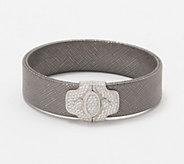 Judith Ripka Verona Sterling Silver Diamonique Bracelet - J349232