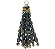 Barbara Bixby Sterling & 18K Cultured Pearl Tassel Pendant - J377432