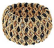 Joan Rivers Bold Woven Bead Stretch Bracelet - J260233