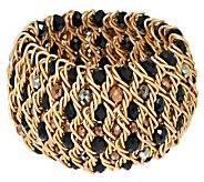 Joan Rivers Bold Woven Bead Stretch Bracelet - J260233