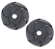 Linea by Louis DellOlio Twirl Button Earrings - J284033