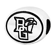 Sterling Silver Bowling Green University Bead - J300833