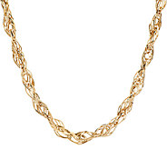 EternaGold 20 Polished Multi-link Necklace 14K Gold, 15.2g - J317233