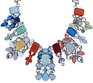 Susan Graver Multicolored Statement Necklace - J321533