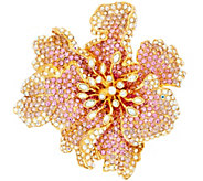 Joan Rivers Limited Edition Fantasy Flower Brooch - J327733