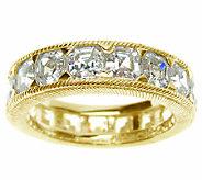 Judith Ripka Sterling 14K-Clad Diamonique Eternity Ring - J339433