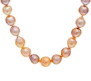 Honora Natural Ming Cultured Pearl Sterling 18 Neckalce - J351633