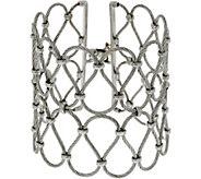 ALOR Stainless Steel Large Openwork Bracelet - J352533
