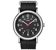Timex Mens Black Weekender Watch - J308834