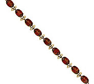 7 Gemstone Tennis Bracelet, 14K Gold - J311834