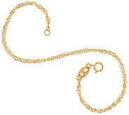 EternaGold 7 Diamond Cut Perfectina Bracelet 14K Gold - J325634