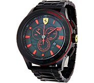 Ferrari Mens Black Stainless Steel Scuderia XX Watch - J334334