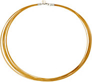 ALOR Stainless Steel 12-Strand Necklace - J352534