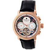 Heritor Automatic Aura Watch - Rosetone/Silver - J380334