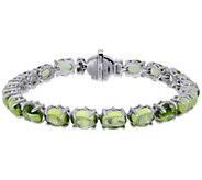 Judith Ripka Sterling Peridot Tennis Bracelet - J380534