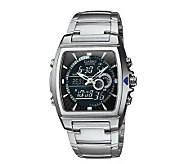 Casio Mens Edifice Thermometer Bracelet Watch - J106935