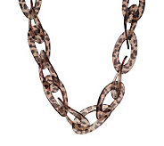 Kenneth Jay Lanes Fashion Oval Link 31-1/2 Adj. Necklace - J269535