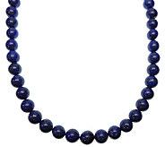Judith Ripka Sterling Blue Lapis Bead MagneticNecklace - J338035