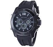 Wrist Armor C29 Multifunction Watch - Stealth Dial Black Strap - J345735