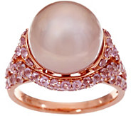 Honora Ming Cultured Pearl & Pink Spinel Ring, 14K, 2.00 cttw - J347335