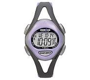 Timex Ladies Ironman Sports Watch - Gray/PurpleBand - J102236