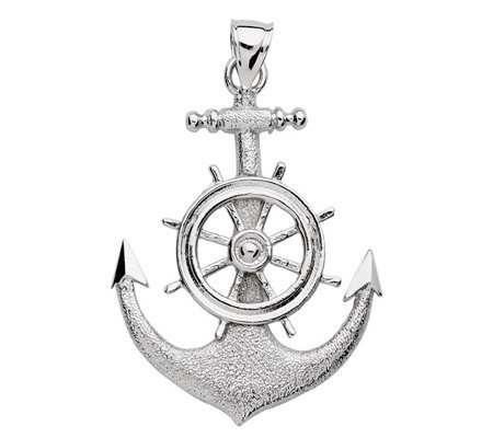 Anchor Wheel Drawing Sterling 2-d Anchor Ships