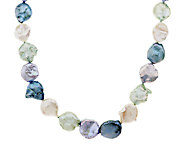 Honora Keshi Cultured Pearl Graduated 18 Sterling Necklace - J293536