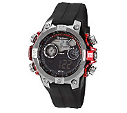 Armitron Mens Red Accented Digital Sport  Watch - J310736