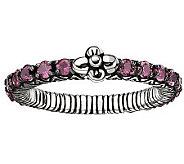 Barbara Bixby Sterling Gemstone Eternity Ring - J311436