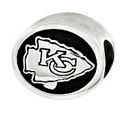 Sterling Kansas City Chiefs NFL Bead - J315136