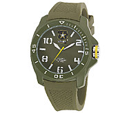 Wrist Armor Mens U.S. Army C25 Green & White Watch - J316336