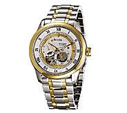 Bulova Mens Automatic Two-Tone Bracelet Watch - J316536