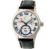 Reign Bhutan Automatic Watch - Silvertone - J380336