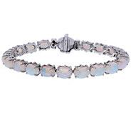 Judith Ripka Sterling Opal Tennis Bracelet - J380536