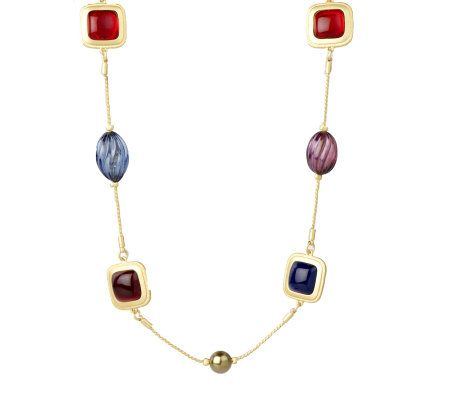 "Linea by Louis Dell'Olio Simulated Gemstone 48"" Necklace - J264037"