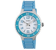 Casio Womens Silvertone Case Watch - J303837