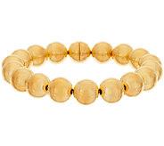 Oro Nuovo 8 Round Bead Magnet Clasp Bracelet, 14K - J318237