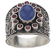 As Is Artisan Crafted Sterling Ltd. Edition 3.20 ct Gemstone Ring - J322737