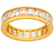 The Elizabeth Taylor 4.20cttw Simulated Diamond Eternity Band - J323937