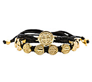 My Saint My Hero Blessing GoldtoneBracelet Set - J339237