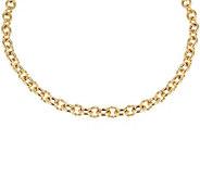 Judith Ripka Verona 18 14K Clad Necklace 38.5g - J343537