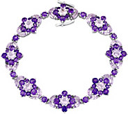 Laura Ashley Sterling 16.15 cttw Multi-GemstoneBracelet - J376137